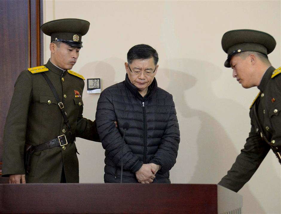 N. Korea releases jailed Canadian pastor on medical parole