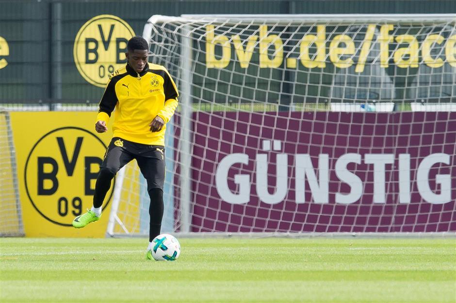 Dortmund snubs Barcelona's Dembele bid