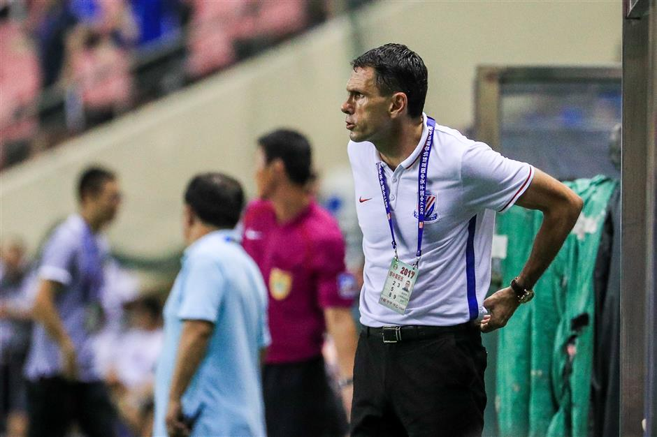 Poyet reaches his 'limit'to put Shenhua job on the line as Evergrande extends CSL lead