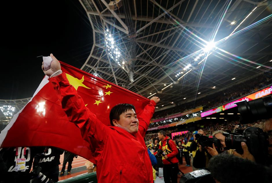 Gong wins China's first gold medal, surprise victories for Warholm and Francis
