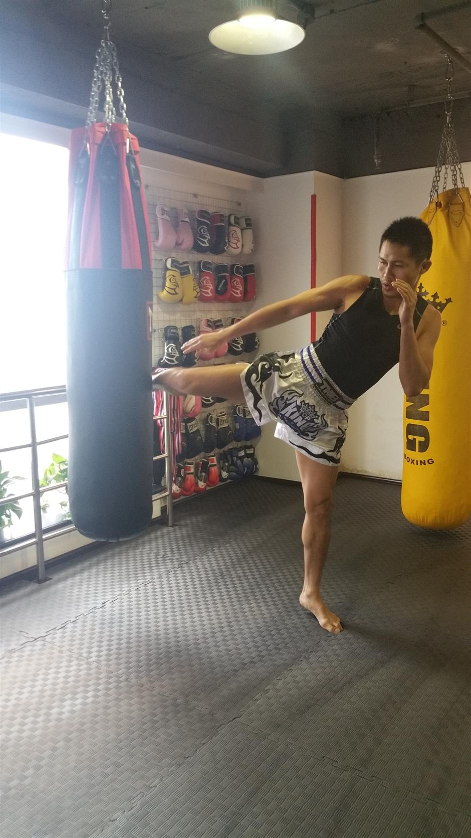 Get in fit, fighting form with Thai martial art