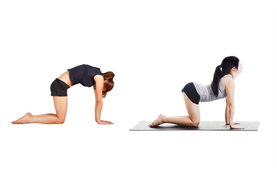 Stretching out to stay limber and prevent injury