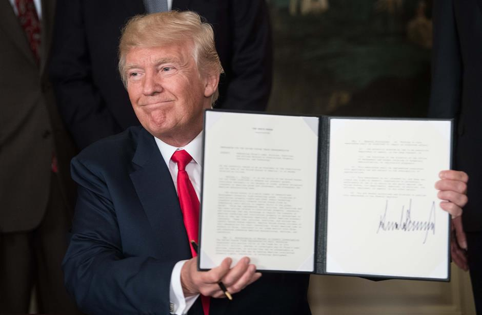 China expresses 'grave concerns'about new US memorandum