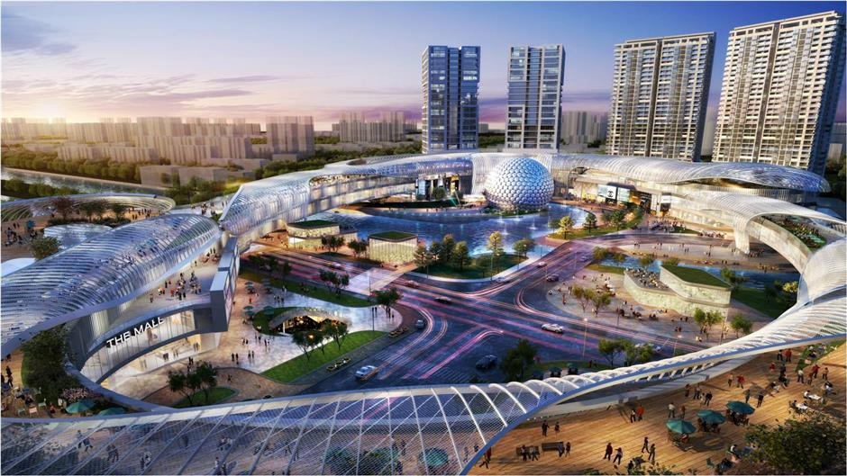 Shanghai to build China's largest huge screen cinema in Baoshan