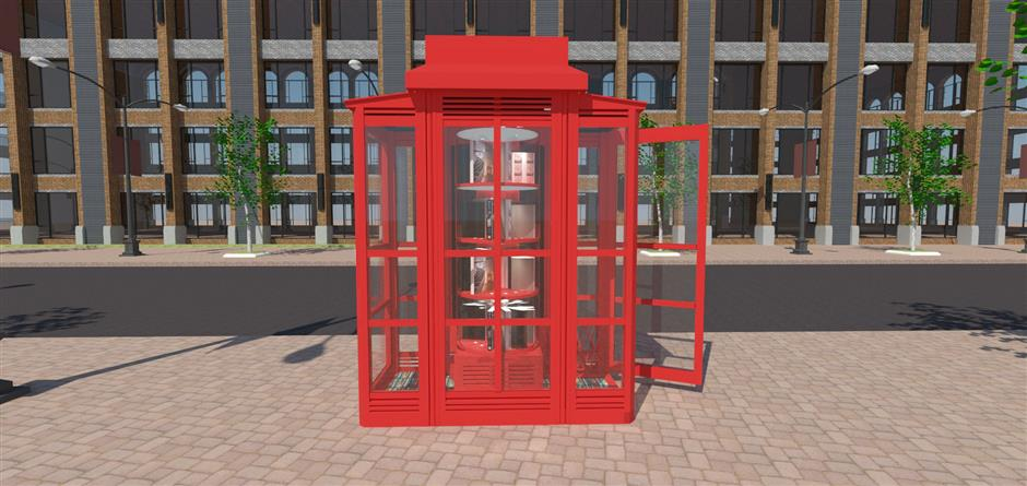 Xuhui telephone booths to be turned into libraries