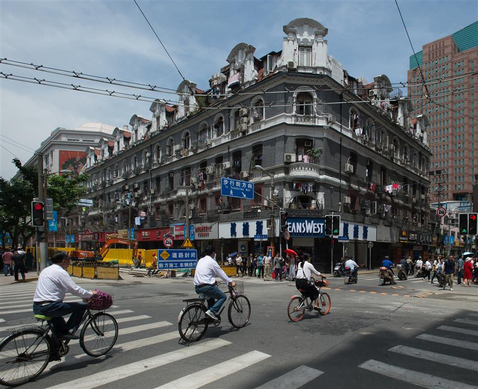 Queen Anne-style building on Nanjing Road gets careful facelift