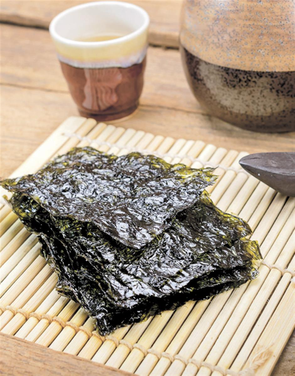 Seaweed: the next best thing to dining by the coast