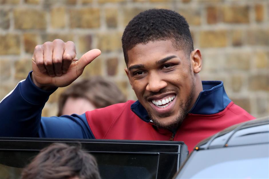 Joshua open to MMA crossover fight