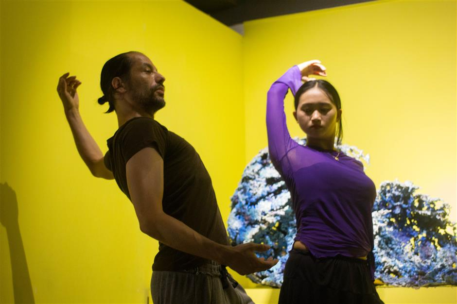 Modern dance amateurs go with the Flow