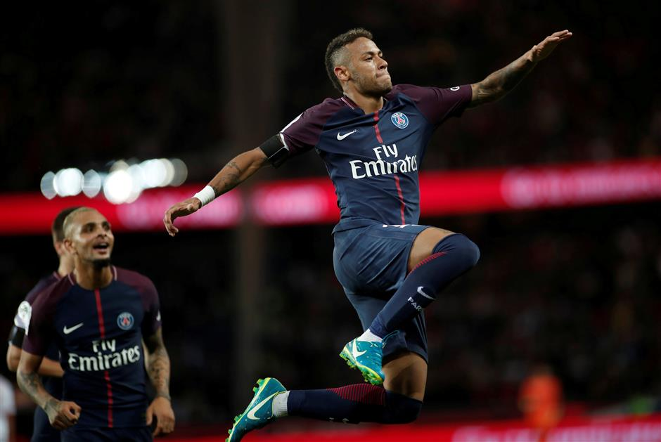 Neymar targets improvement after phenomenal home debut for PSG