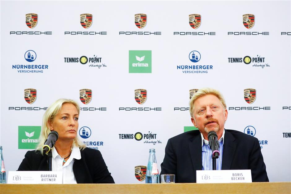 Becker hired to lead German men's tennis back to success