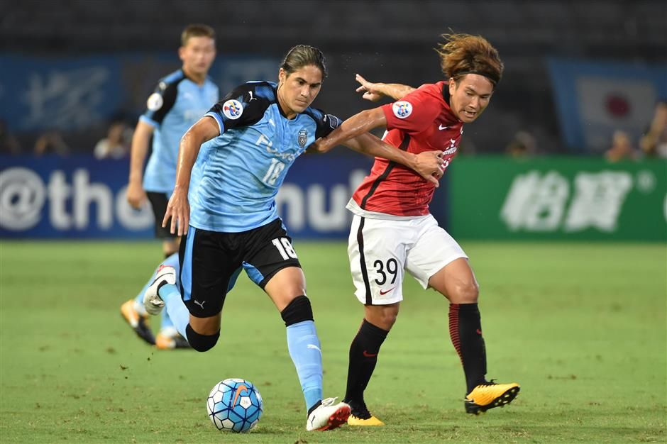 Frontale gives Reds the blues in Asian clash