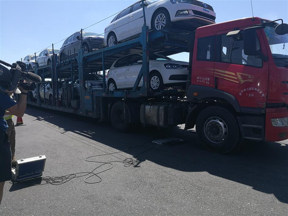 Heavy vehicles targeted in road safety campaign