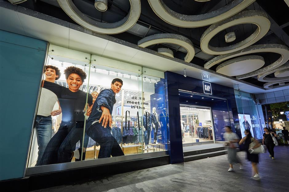 Gap opens new flagship store in Shanghai