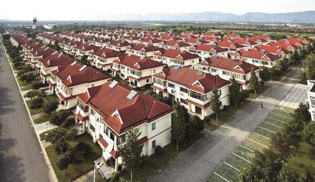 Old villages in the modern era