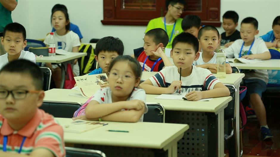 Summer camp teaches Chinese culture and gives parents a break
