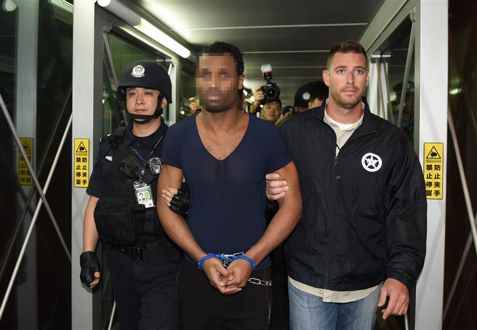 American fugitive in Guangzhou swiftly handed over to US authorities