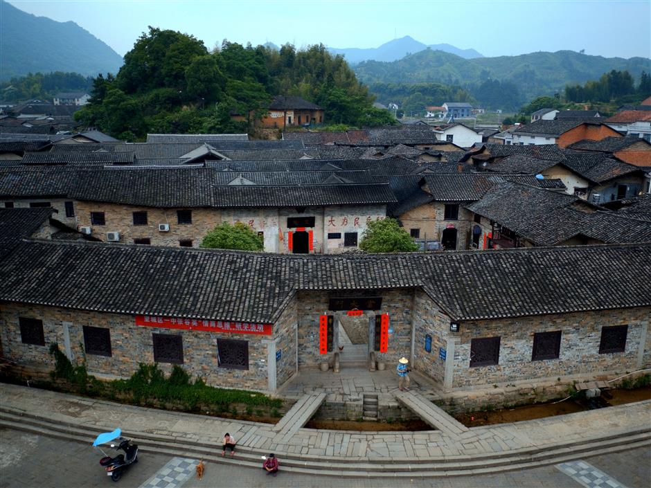 A clan of Zhangs in a 'complex' village