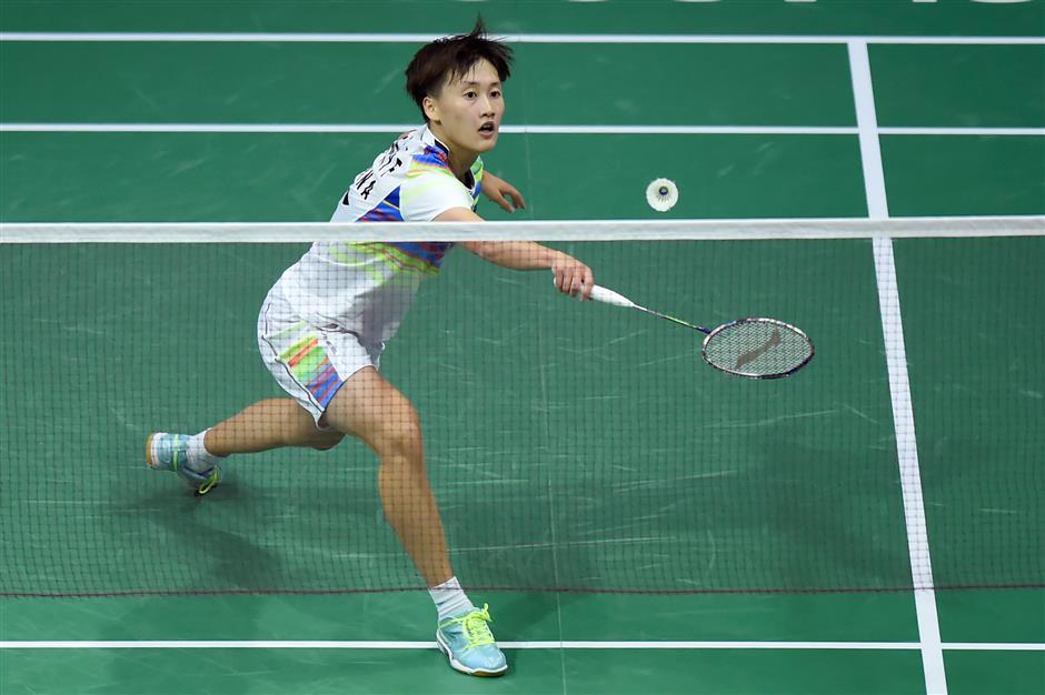 Chen stuns top seed Yamaguchi at worlds