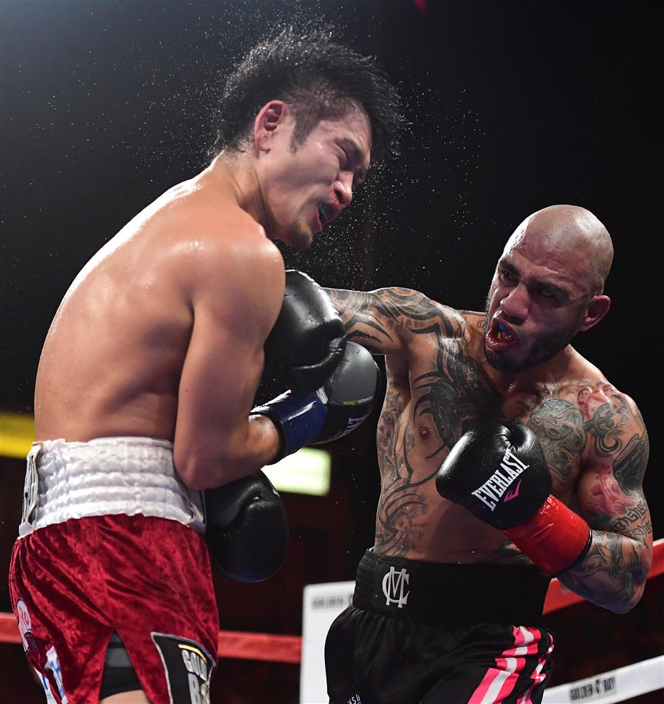 Cotto punishes Kamegai to win sixth world title