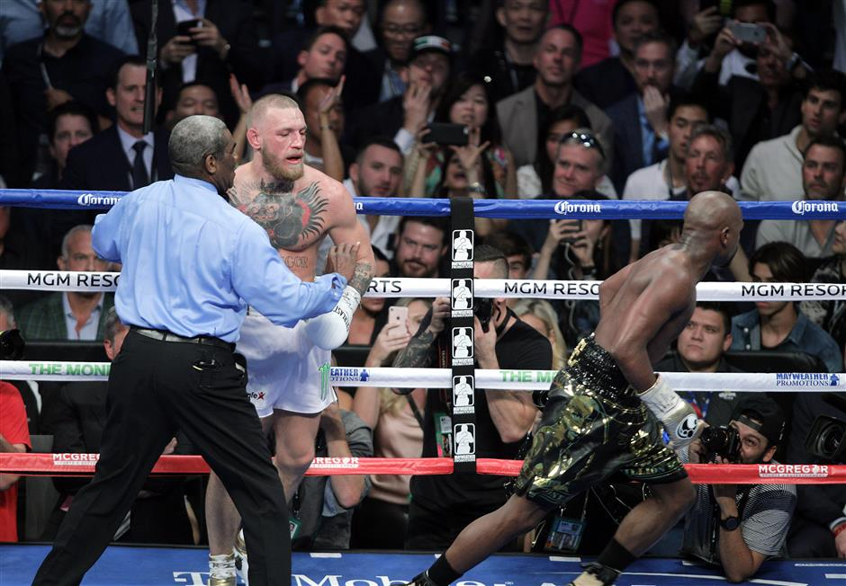 McGregor eyes more money fights as Mayweather retires