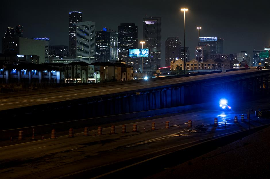 Houston mayor modifies curfew time amid tropical storm