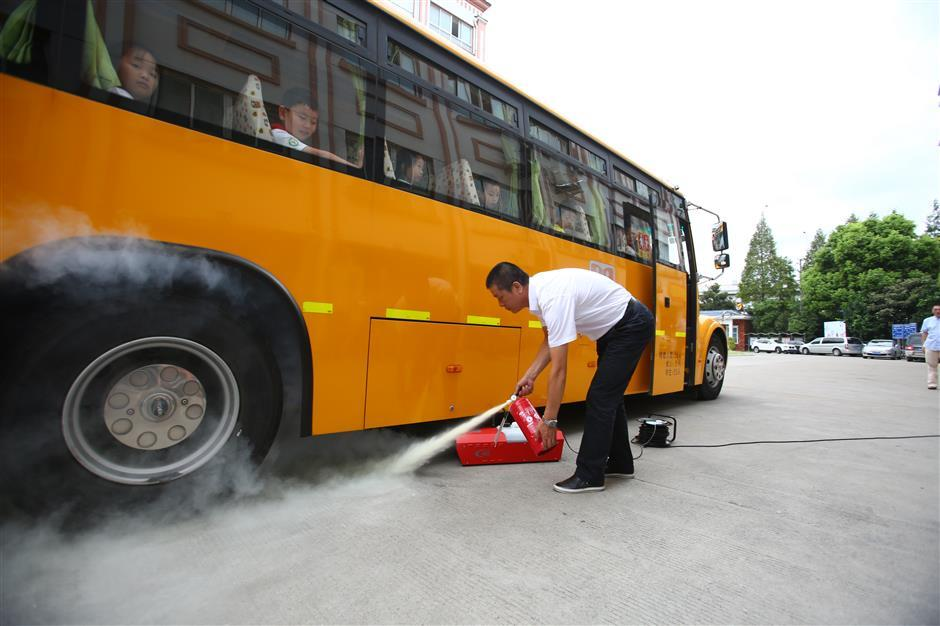 Safe school buses for the new semester