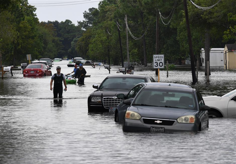 Relief for Texas after 5 days of storm battering