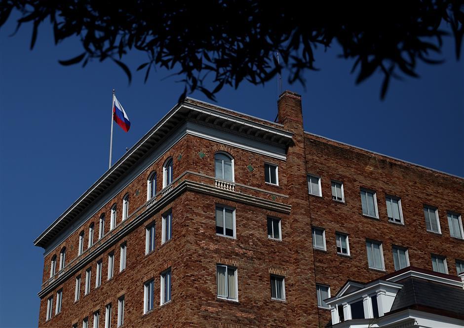 Russian consulate in San Francisco denounces US'unfriendly decision' to order its closure