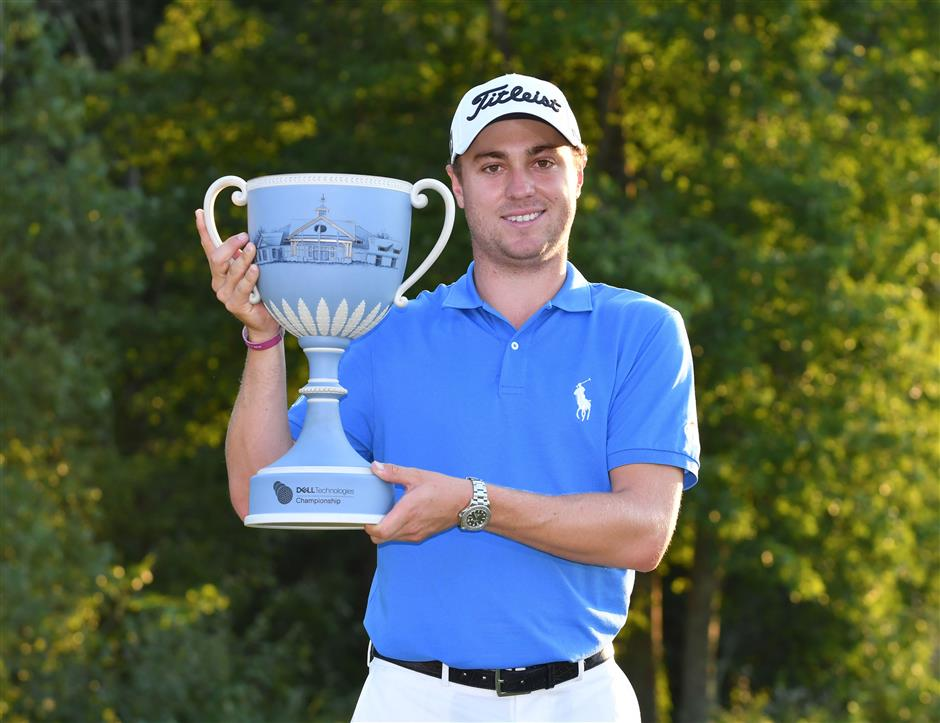 Thomas adds 5th title to an already big year
