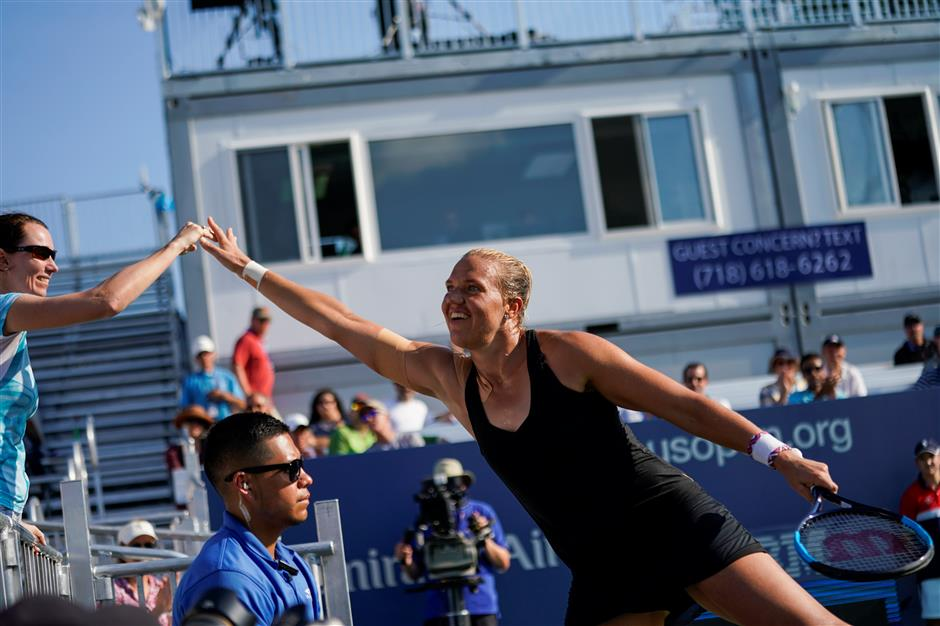 Kanepi still figuring things out back at US Open