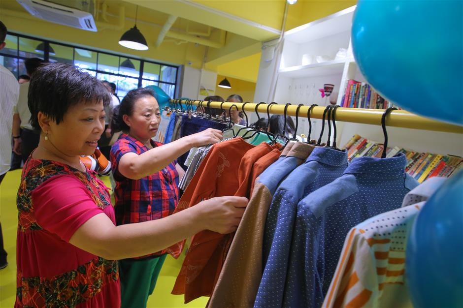 Another charity store opens in Jing'an