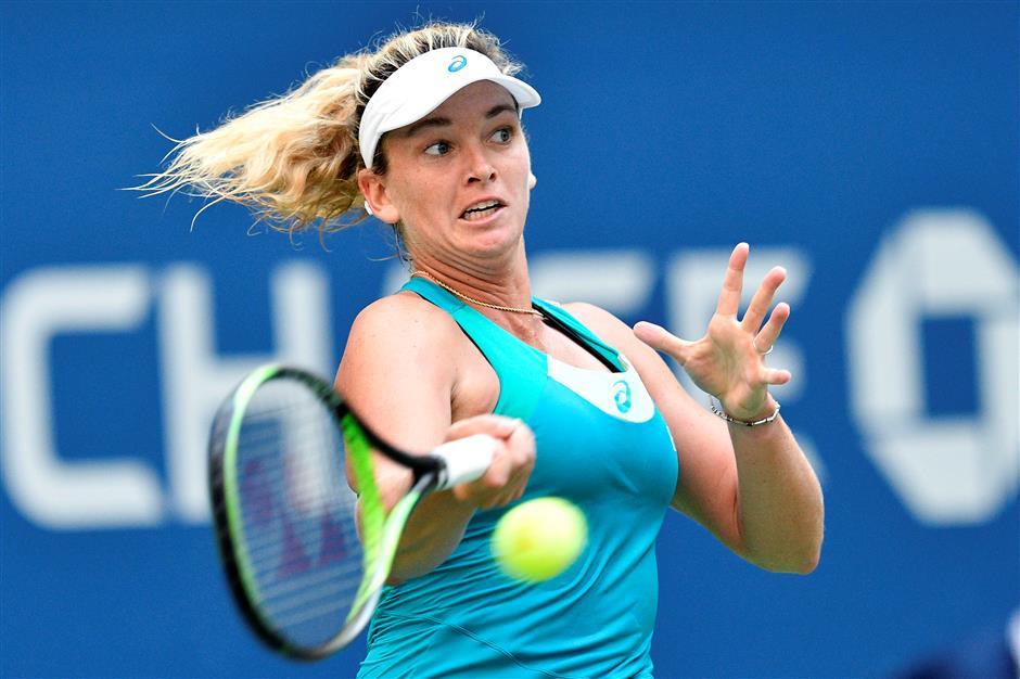 Keys makes it four American women in US Open quarterfinals