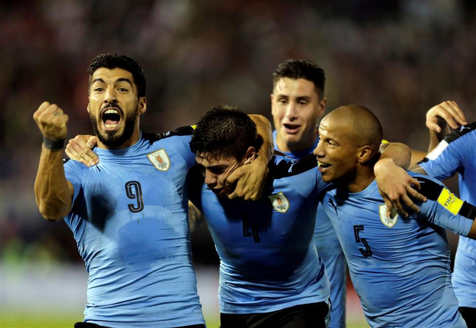 Argentina, Chile stumble again; Uruguay on brink of qualification