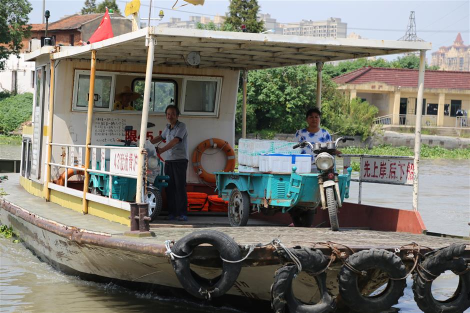 Wusong River's last ferry port — here today, may be gone tomorrow