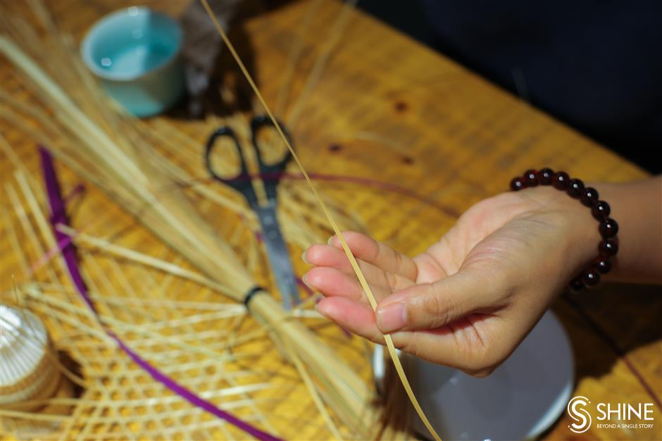 Bamboo-weaving master finds support among the disabled
