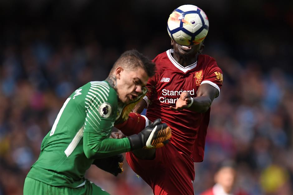 Red card for Liverpool's Mane divides pundits