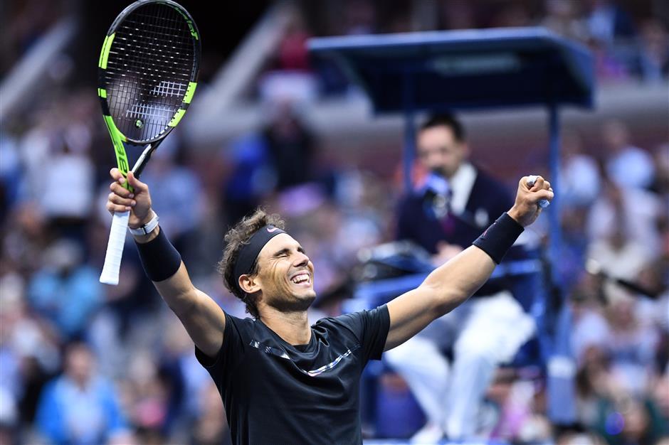 Muguruza joins US Open champion Nadal at No. 1 for Spain