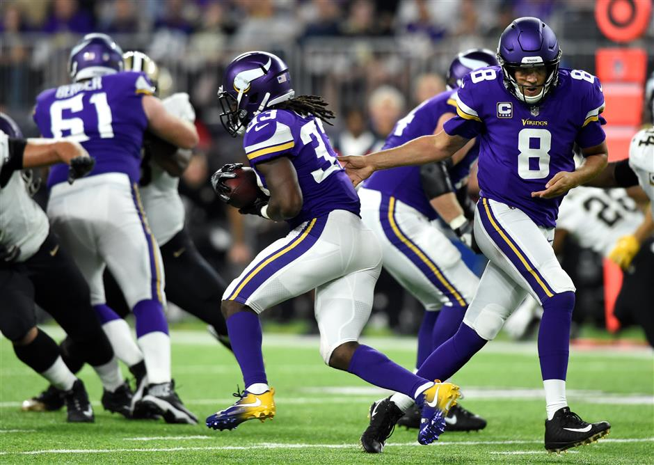 Vikings home Cook-in' spoils Peterson's return