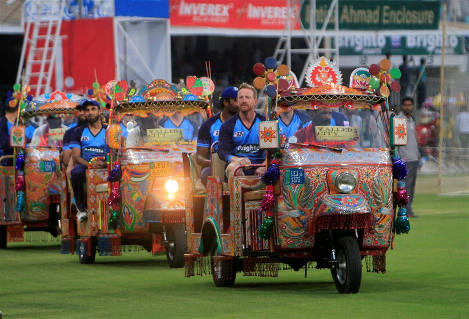 Pakistan celebrates international revival with Twenty20 win
