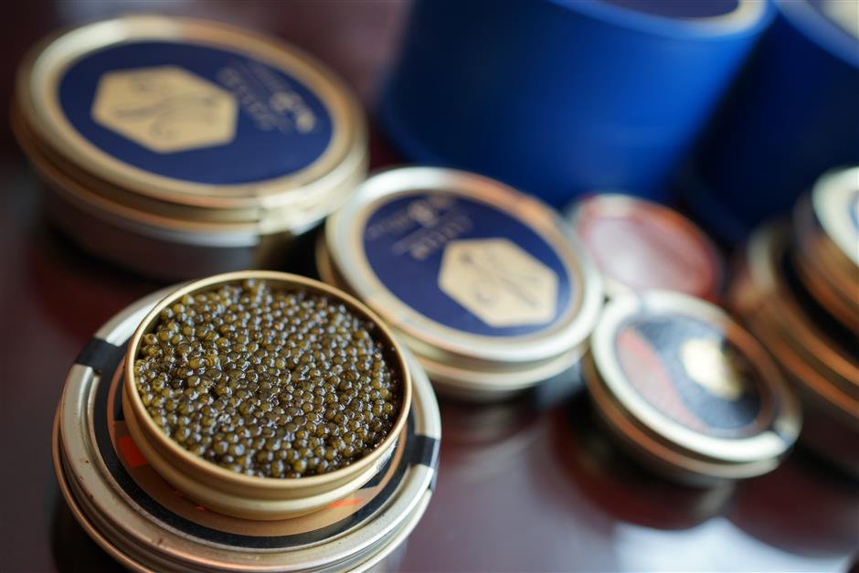 Now made in China: caviar and premium steak