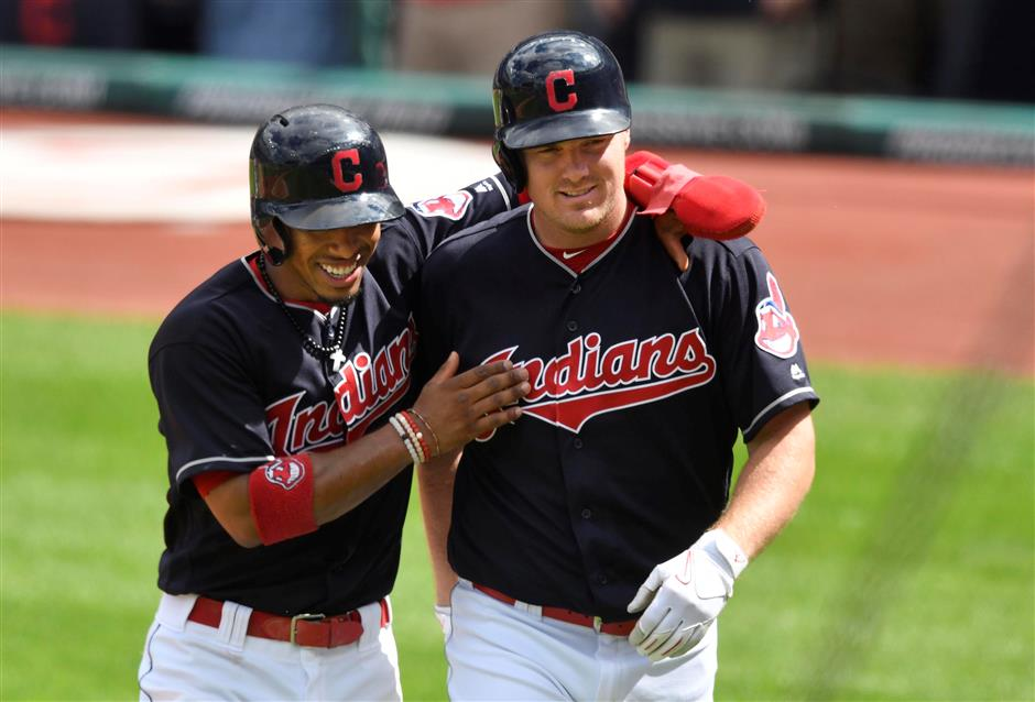 Bruce, (W)indians enjoying record ride together