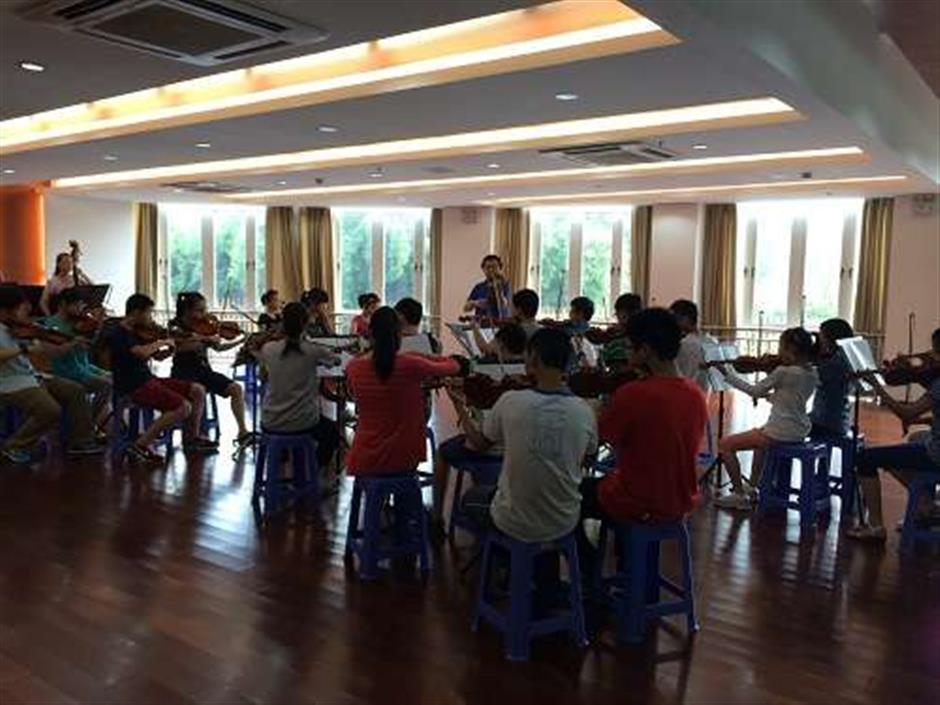 Symphony orchestra blows its own trumpet