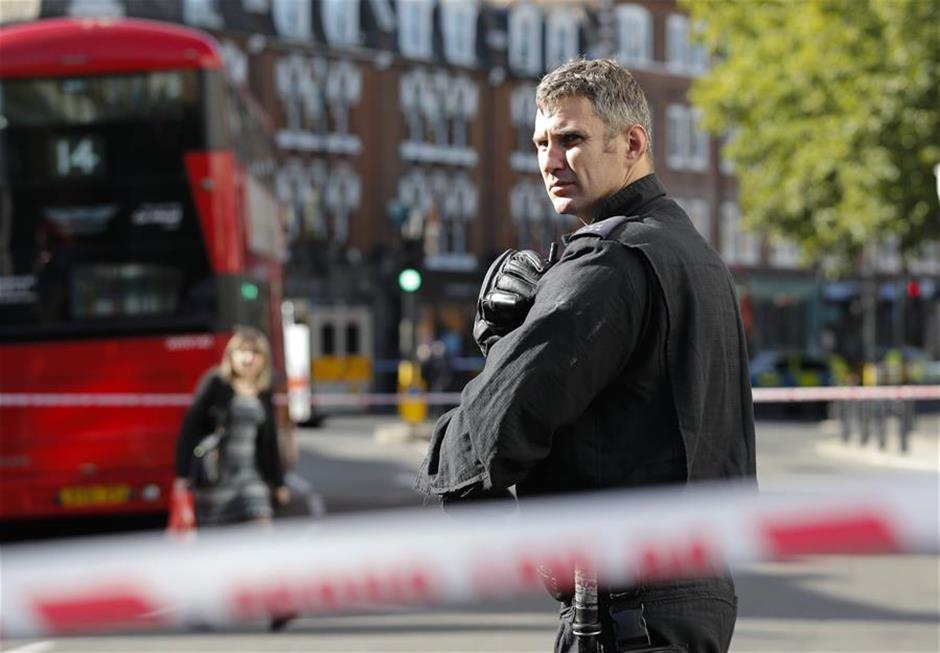 Manhunt underway following west London subway station blast