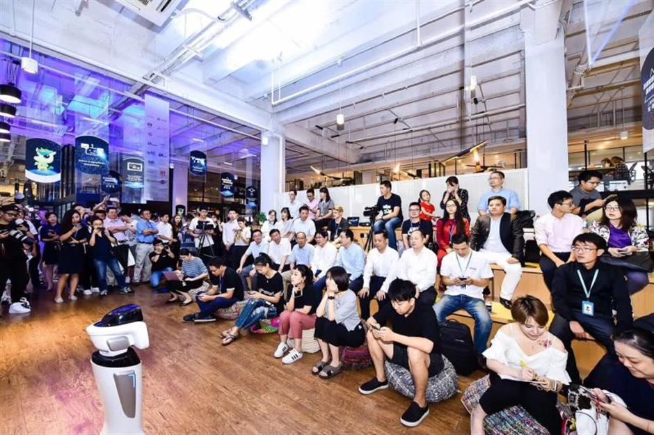 Startup companies display ideasat innovation week