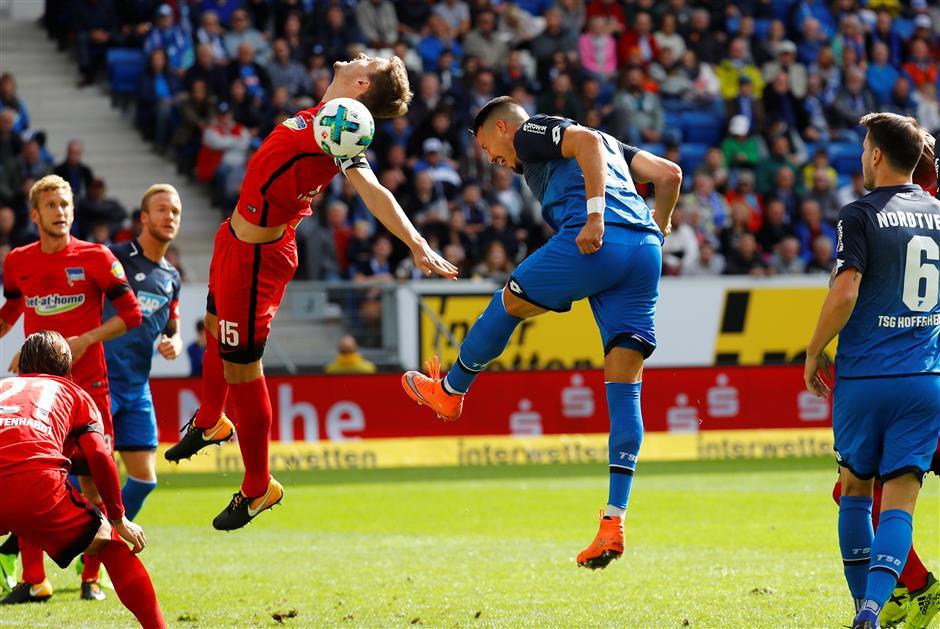 Hoffenheim draw keeps Hanover top of Bundesliga