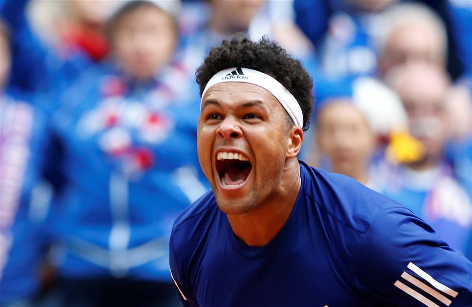 Tsonga sends France into Davis Cup final