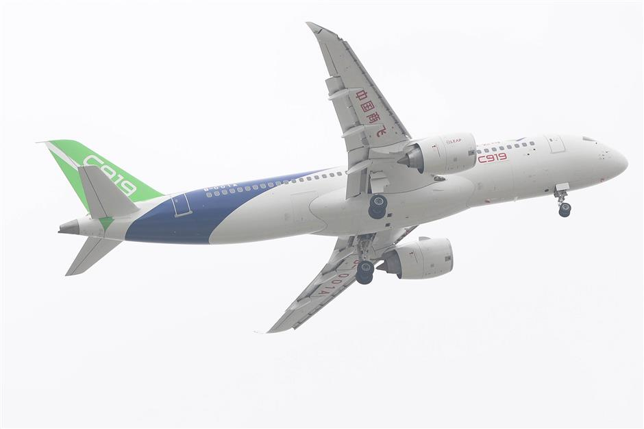 China-made C919 aircraft attracts new orders