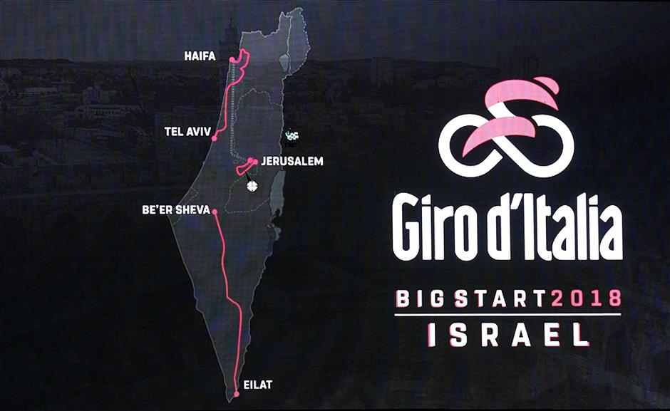 Giro start in Israel next year to go from Jerusalem to Red Sea