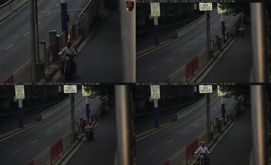 Finally, a traffic police camera targeting bike riders